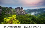 Germany  Bastei  View From...