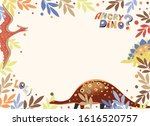 Vector Image Of A Postcard With ...