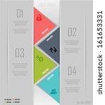 modern parallel arrow style... | Shutterstock .eps vector #161653331