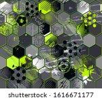 abstract seamless grunge... | Shutterstock .eps vector #1616671177