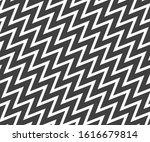 wave  zigzag lines pattern.... | Shutterstock .eps vector #1616679814