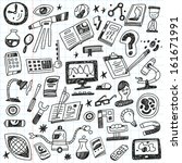 science   doodles | Shutterstock .eps vector #161671991