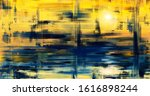 Abstract Art Landscape Painting ...