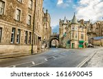 A Street In Old Town Edinburgh...