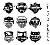 vintage shield seal logo ...   Shutterstock .eps vector #1616911954