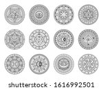 occult  alchemy and astrology... | Shutterstock .eps vector #1616992501