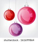 Christmas Ball Set. Vector...