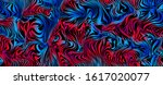 chaotic striped texture....   Shutterstock .eps vector #1617020077