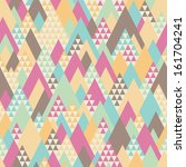 retro seamless pattern with... | Shutterstock .eps vector #161704241