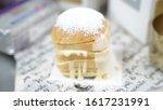bread with icing on top | Shutterstock . vector #1617231991