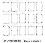 decorative vintage frames and... | Shutterstock .eps vector #1617326317