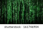 Matrix Background With The...