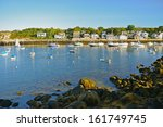 Rockport Harbor  Massachusetts...