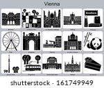 landmarks of vienna. set of... | Shutterstock .eps vector #161749949