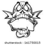 skull | Shutterstock .eps vector #161750015