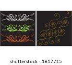 background pattern. | Shutterstock .eps vector #1617715