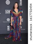 """Small photo of HOLLYWOOD, CA/USA - JAN 4 2020: Cicely Saldana arrives to The Art of Elysium 13th Annual Black Tie Artistic Experience """"HEAVEN"""" on January 4, 2020 in Hollywood, CA"""