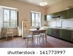 Old Kitchen In Country House