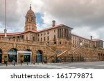 parliament building in pretoria | Shutterstock . vector #161779871