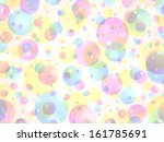abstract colorful bubble... | Shutterstock .eps vector #161785691
