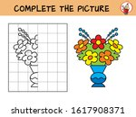 complete the picture of a... | Shutterstock .eps vector #1617908371