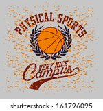 american college sports vector... | Shutterstock .eps vector #161796095