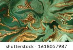 gold and emerald marble... | Shutterstock .eps vector #1618057987