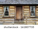 Front Porch And Windows Of A...