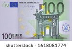 Front Part Of 100 Euro Banknote ...