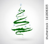 christmas tree icon | Shutterstock .eps vector #161808305