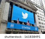 new york   november 7  the...   Shutterstock . vector #161838491