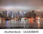 new york city manhattan midtown ... | Shutterstock . vector #161838845