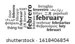 happy leap day or leap year... | Shutterstock .eps vector #1618406854