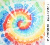 Spiral Tie Dye Design....