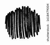 black marker crossed texture.... | Shutterstock .eps vector #1618479004