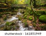 Wood Bridge In Geres National...
