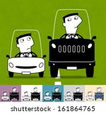 arrogance. business cartoon... | Shutterstock .eps vector #161864765