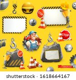 repair and under construction....   Shutterstock .eps vector #1618664167