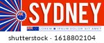 Sydney City Patriotic Banner...