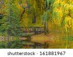 Autumn   Small Bridge Colorful...