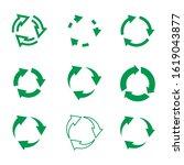 set of vgreenector refresh and... | Shutterstock .eps vector #1619043877