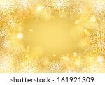 Golden Background With...