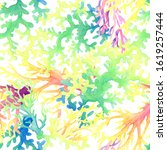 Watercolor Abstract Pattern...