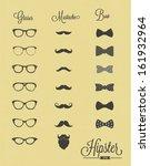hipster design set  | Shutterstock .eps vector #161932964