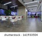 business building cafe interior    Shutterstock . vector #161933504