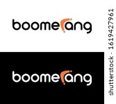 boomerang logo concept  clever... | Shutterstock .eps vector #1619427961
