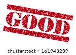 good grunge red stamp | Shutterstock . vector #161943239