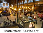 paris   may 18   inside view of ... | Shutterstock . vector #161951579