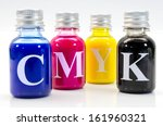 small bottles with the four...   Shutterstock . vector #161960321