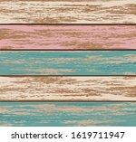 shabby wood texture flat vector ...   Shutterstock .eps vector #1619711947